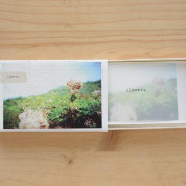 【ホトリ写真塾・写真の残しかた教室】名刺BOX和綴じ豆本